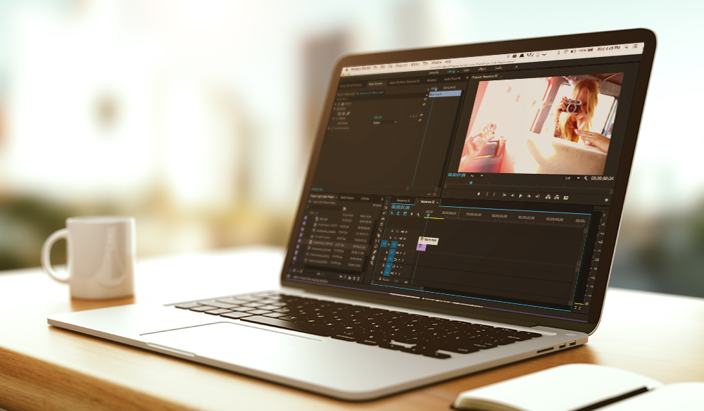 corso base di video editing
